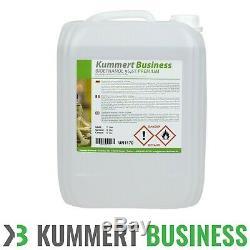 10 Liter (1x 10L) Bioethanol 96,6% Bio Ethanol Kamin Brennflüssigkeit Gel Kamin