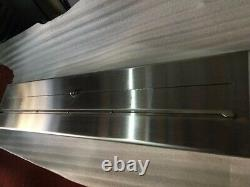 36 Inch Stainless Steel Manual Bio Ethanol Fireplace With Heat