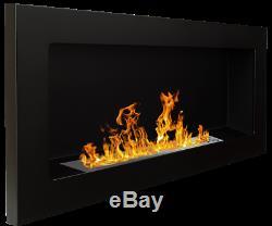 90x Gel and Ethanol Fireplace Black Gel Fireplace Bio-Ethanol Fireplace New