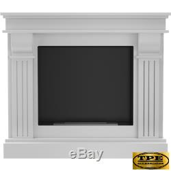 AUGUST Free Standing contemporary Bio-Ethanol Bio Fireplace TUV Certified