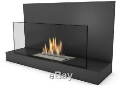 Alden Bio-Ethanol Real Flame Fireplace + Additional Stones-82702