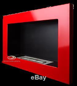 BIO ETHANOL FIREPLACE 1400x400 1200x400 900x400 650x400 COLOURS+ FREE