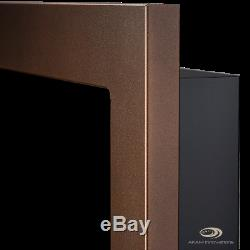 BIO ETHANOL FIREPLACE Emotion BROWN EXTRA LARGE WALL BURNER 1200x400 TUV cert