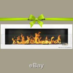BIO ETHANOL FIREPLACE Emotion EXTRA LARGE 1200X400X120+ GLASS+ COLOURS