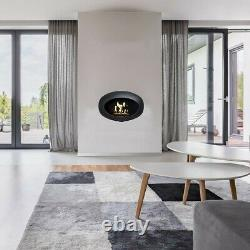 BRAND NEW BOXED LeFeu Indoor/Outdoor Wall Black Bioethanol Fire Dome & Bag