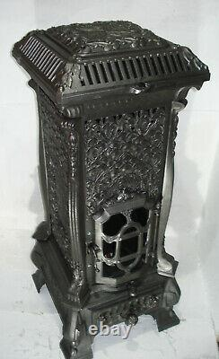 Beautiful Antique French Stove Bio Ethanol Fire