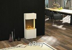 Bergamo flip light 980 Design Bioethanol Kamin weiß (warm)