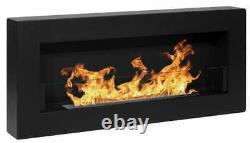 Bio Ethanol Bioethanol Fireplace B2C BOX 900 x 400 Black Eco Product
