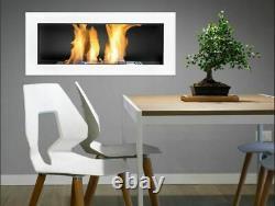 Bio Ethanol Bioethanol Fireplace B2C BOX 900 x 400 White Eco Product Bioethanol