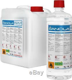 Bio Ethanol Fanola Premium Fuel 40l (8 X 5l Drums)