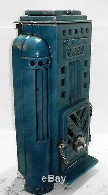Bio Ethanol Fire Art Deco French Stove