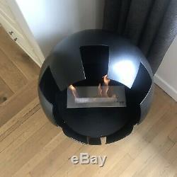 Bio Ethanol Fire Burned By Design