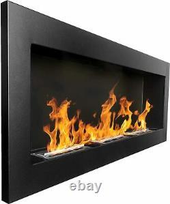 Bio Ethanol Fireplace Biofire Fire B2C Professional 1400 x 400 Black Damaged