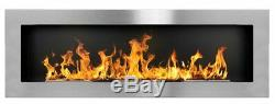Bio Ethanol Fireplace Biofire Fire B2C Professional 1400 x 400 /GLASS/ 5 Colors