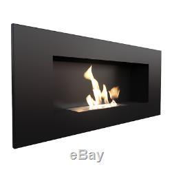 Bio Ethanol Fireplace Biofire Fire DELTA 2 Black 900x400 TUV certificate
