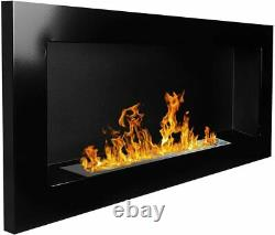 Bio Ethanol Fireplace Biofire Professional 900 x 400 High Gloss Black DAMAGED
