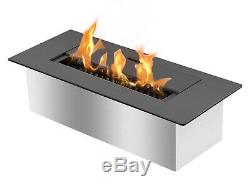 Bio Ethanol Fireplace Burner Insert EB1200 Black Ignis