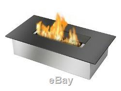 Bio Ethanol Fireplace Burner Insert EB1400 Black Ignis