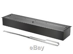 Bio Ethanol Fireplace Burner Insert EB3600 Black Ignis