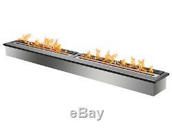 Bio Ethanol Fireplace Burner Insert EB6200 Black Ignis