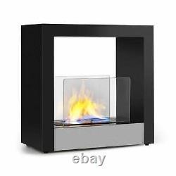 Bio Ethanol Fireplace Burner Space Heater SmokeFree Stainless Steel Freestanding