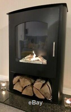 Bio Ethanol Fireplace Imagin Fires Pembrey Free Standing Log Burner Style