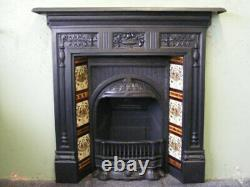 Bio Ethanol Fireplace Indoor Inset Fire Victorian Traditional Style Fire Insert