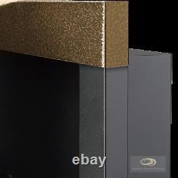 Bio Ethanol Fireplace LINEAR 1400 1200 900 650 ECO Alcohol Burner Insert & Glass