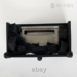 Bio Ethanol Mini-Basket Fire Insert in Traditional Style Alternative To Electric