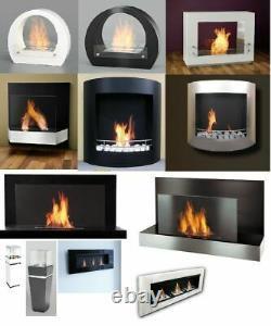 Bio Ethanol Wall Fireplace Cheminee Gel Fireplace Table Fireplace