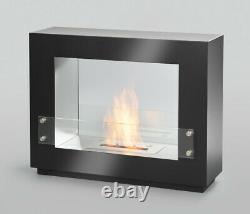 Bio Ethanol Wall Fireplace Cheminee Gel Fireplace Table Fireplace Paris Black