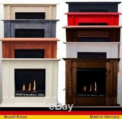 Bio Ethanol und Gelkamin Kamin Gel Fireplace Firegel Rafael Deluxe Farbwahl