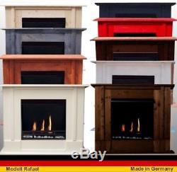 Bio Ethanolkamin Gelkamin Kamin Fire Place Rafael Premium Wählen Sie die Farbe