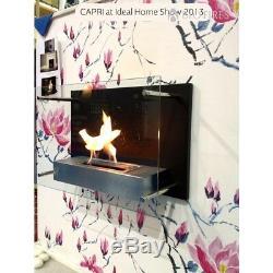 Bio Fires Capri Bio Ethanol Fire Wallhanging Fireplace