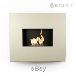 Bio Fires Cream Onyx Wall Hanging Bio Ethanol Fireplace Bioethanol Fuel
