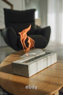 Bio ethanol fire place, Terrace table fireplace, Real fire burner, URBA