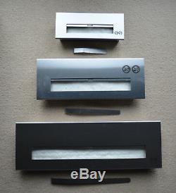 Bio ethanol firebox burner wool insert adjustable lid different variants