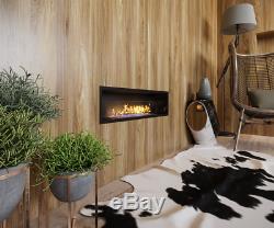 Bio ethanol fireplace Mod Stex built-in with glass gel Stove SINGLE BURNER