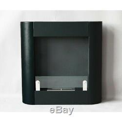 Bio ethanol fireplace Sahara + glass single double security room certificate TUV