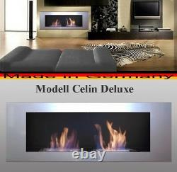 Bioethanol Cheminee Modell Celin Silver Poele Chauffage
