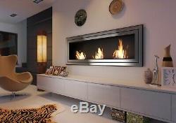 Bioethanol Kamin Juliet 1800 Wandkamin TÜV Zertifiziert Bio fireplace Biokamin