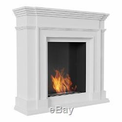 Bioethanol Kamin Legionis Weiss TÜV Zertifiziert Biokamin Bio Ethanol fireplace
