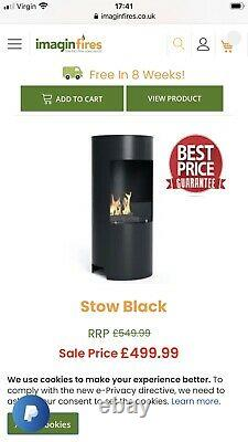 Bioethanol Stow Stove By Imagin Fires