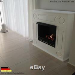 Cheminée Foyer Bio Ethanol Firegel Gel Cheminee Fireplace peis Chimenea Dion XXL