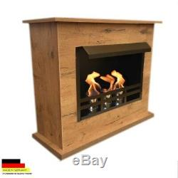 Cheminee Foyer Cheminée Bio Ethanol Firegel Fireplace Caminetti Chimenea Yvon