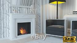DECEMBER Free Standing contemporary Bio-Ethanol Bio Fireplace TUV Certified
