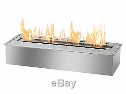 EB2400 Ignis Bio Ethanol Fireplace Burner With 8 Hours Burn Time And 16k BTU