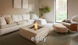 Eco Smart Base Indoor/Outdoor Bio Ethanol Fire Table Ex-Showroom RRP-£1995