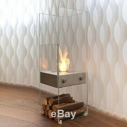 Eco Smart Ghost Designer Indoor/Outdoor Bio Ethanol Fire Ex-Showroom RRP-£1995