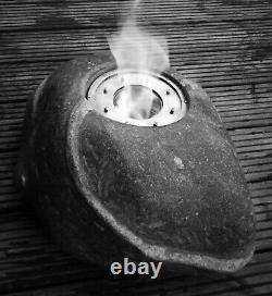Ethanol Round Burner Tank With Iris Diaphragm For Smokeless Bio Fireplaces